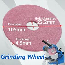 Chainsaw Diamond Grinding Wheel Disc 105mm Dia. for Chain Saw 3/8'' 404 Pitch