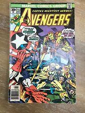 Avengers #153 (Nov 1976) - The Whizzer!