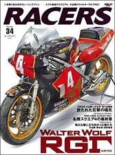 RACERS Vol.34 WALTERWOLF RGΓ Japanese book Masaru Mizutani