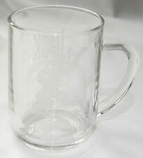 """Disney Goofy Clear Glass Walt Disney World Mug """"Jack"""""""