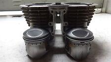 1976 Yamaha XS650 XS 650 YM247B. Engine top end cylinders jug pistons