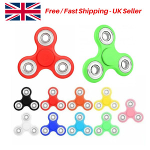 Fidget Finger Spinner, Sensory Autism Anxiety Hand Ultimate Spin Stress Toy - UK