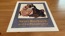 "Signed Norman Rockwell 1927 ""Sears, Roebuck And Co., Philadelphia"""