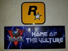 Rockstar Games Grand Theft Auto Vice City Stories Rare Promo V-Rock Sticker