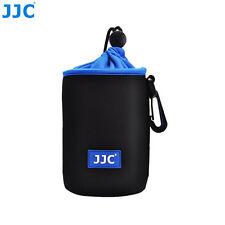 JJC 83x130mm Neoprene Lens Pouch Bag W/ Carabiner&Belt Loop F Canon EF-S 18-200m