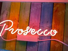 """New Prosecco Acrylic Neon Light Sign 14""""x5"""" Room Lamps Homemade Wall Display  00006000"""