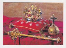 Coronation jewels of the Czech Kings Praha/ Prague/ Prag Czech Republic Postcard