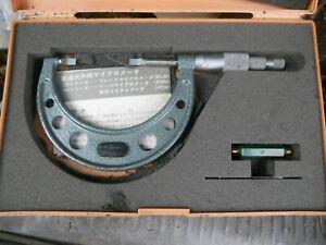 micrometer 2-3 in mitutoyo B L M-3V 122-127blade mike