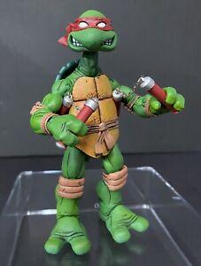 Authentic! NECA Mirage Original Comic Book TMNT Red Michelangelo Turtles 2008