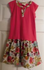 Girls Beautiful Crazy 8 Dress Size M Or 7-8 Girl's Multi Colors