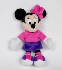 2001 Mattel Fisher Price Pink Purple Plush Disney Minnie Mouse Plush Toy
