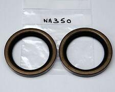 Pair of rear hub oil seals Austin Healey 100-4 100-6 3000 (Payen NA350 C617)