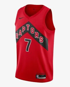 NIKE NBA Toronto Raptors 2020/21 Icon Swingman Jersey Kyle LOWRY 7 Mens L