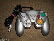 NINTENDO GAMECUBE & WII controlador Gamepad Control Pad de control de juego en plata
