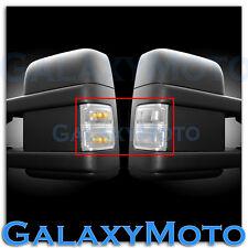 F250+F350+F450+F550 Super Duty 2008-2015 Side Mirror Light LED CLEAR FORD New