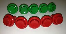 Atari SPACE DUEL Button Set **NEW** Leaf Style Buttons