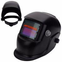 New Pro Solar Powered Auto Darkening Welding Helmet Grinding Welder Mask