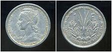 AFRIQUE OCCIDENTALE FRANCAISE   1  franc 1948   ANM