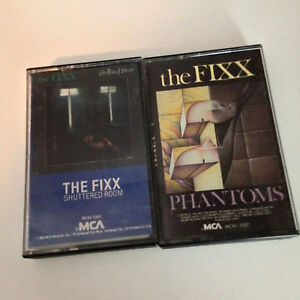 THE FIXX Cassette Tape Lot 2x - Phantoms, Shuttered Room - EX
