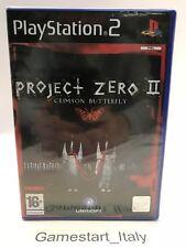 PROJECT ZERO 2 - SONY PS2 - VIDEOGIOCO NUOVO SIGILLATO PAL UK VERSION NEW