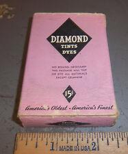 Vintage Diamond Dyes Orchid, Wells & Richardson Company, Burlington VT