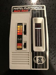 Vintage 1976 Handheld Mattel Electronics Auto Race Game TESTED & Working !