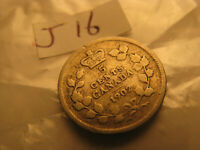 Canada 1902 No H 5 Cent Silver Coin ID#J16.