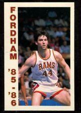 Schedule College Basketball Fordham - 1985 1986 - No Brand