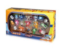 SUPER WINGS - ENSEMBLE 18 MINI FIGURINES / / 18 2-4,5cm