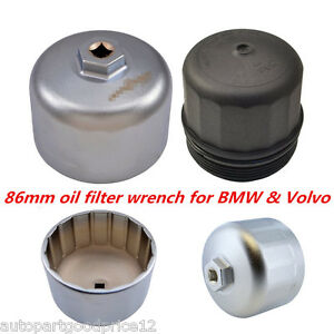 86mm Aluminum Cartridge Style Oil Filter Wrench Filter Housing Cap
