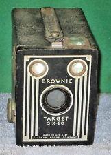 Vintage BROWNIE TARGET SIX-20 Box Camera by Eastman Kodak Co USA
