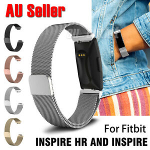For Fitbit Inspire/Inspire HR Milanese Stainless Steel Magnetic Replacement Band