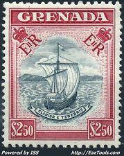 GRENADE BATEAU VALEUR 2.5£ NEUF ** SANS CHARNIERE (BL)