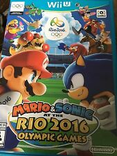 Mario & Sonic At The Rio 2016 Olympic Games (Nintendo Wii U) FAST SHIPPING