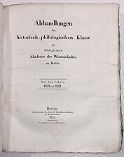 Alexander von Humboldt: den Bau und die Wirkungsart der Vulcane  1822/23