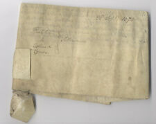 1670 Vellum Berkshire Yeoman Thatcher Collins Combe King Charles II Abingdon