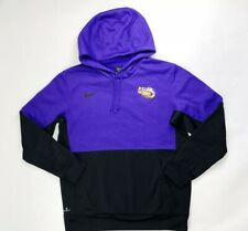 Nike Men's Therma Fit LSU TIGERS HOODED Pullover Jacket Sz. L NEW CI4765-547