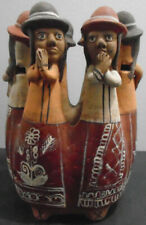 VINTAGE ALLPA PERU HAND MADE CLAY FIGURE