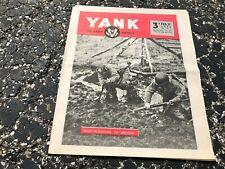 FEB 27 1944 YANK military magazine WWII (BRITISH) pinup - IDA LUPINO