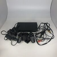 Sony PS2 Slim PlayStation Console Bundle 1 Controller SCPH-75001 Tested
