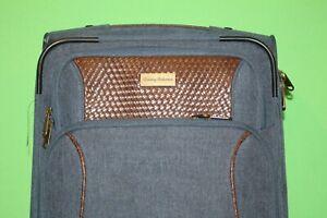 """Tommy Bahama Wheeled Carry On Luggage Suitcase - 22"""" x 14"""" x 10"""""""