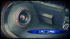 FORD Focus MK1 NUOVO Stealth Sub Altoparlante Custodia Box suono BASS AUDIO AUTO 12 10