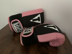 TITLE BOXING GLOVES Pink Used Once.