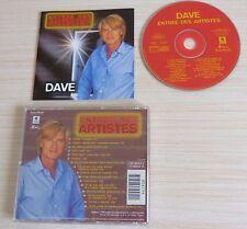 RARE CD ALBUM BEST OF DAVE ENTREE DES ARTISTES 16 TITRES 1998