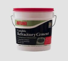 12.5 lb RUTLAND Castable REFRACTORY Cement Repairs Firebrick Fireplace Stove 600