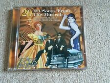 20 Hit Songs From The Musicals - Hits Cd Album -The Shows Collection Great Cond
