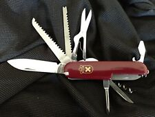 Red Swiss Army Style Multi Function Use Tool Pocket Camping Knife-Same Day Ship!