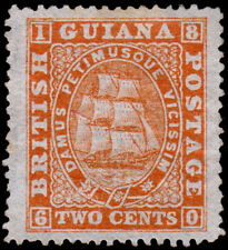 British Guiana Scott 59 (1875) Mint NG F-VF, CV $195.00 M