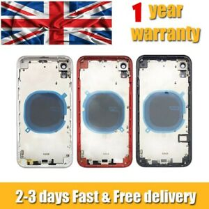 """Metal Frame Back Chassis Housing Rear Glass Cover Replacement For iPhone XR 6.1"""""""