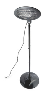 Gardenline Patio Heater 2000W - Freestanding/3 heat settings - Fab for outdoors!